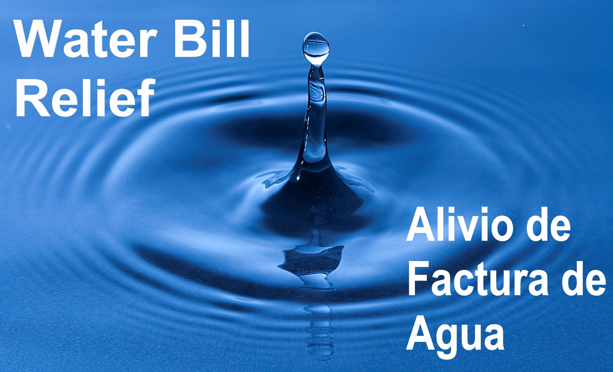 Water Bill Relief